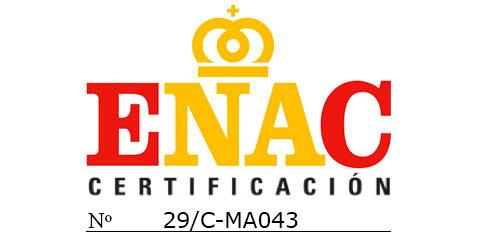 Certificados por ENAC ISO 14001