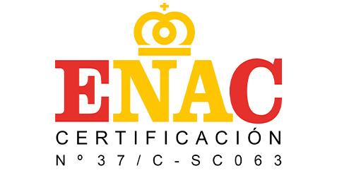 Certificados por ENAC ISO 9001