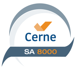 SA 8000 CERTIFICATION SEAL