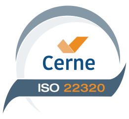 ISO 22320 CERTIFICATION SEAL