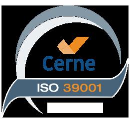 Sello ISO 39001